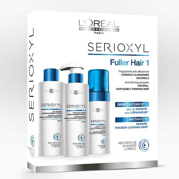 LOreal Professionnel Serioxyl KIT 1 για φυσικά μαλλιά