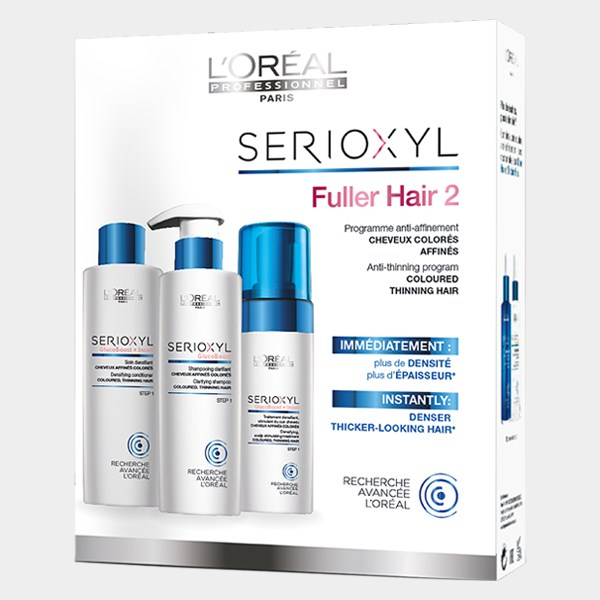 LOreal Professionnel Serioxyl KIT 2 για βαμμένα μαλλιά