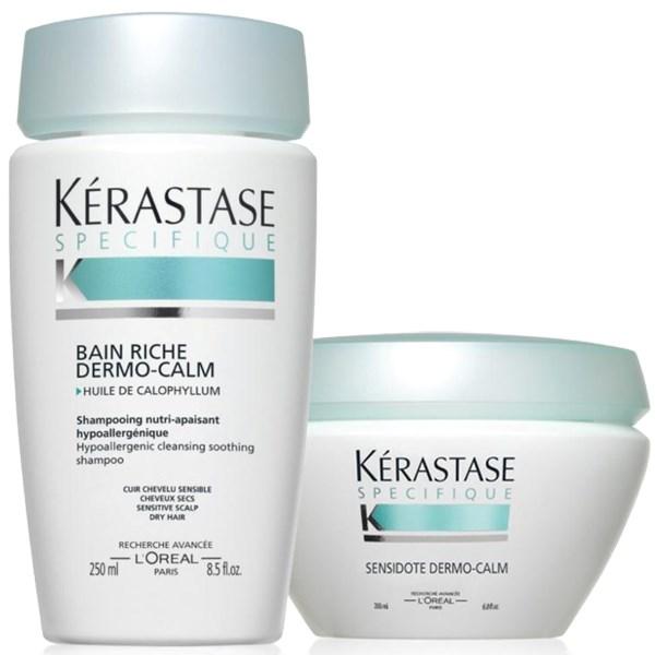 Kérastase Dermo-Calm Σετ για ξηρά μαλλιά (Σαμπουάν & Μάσκα)